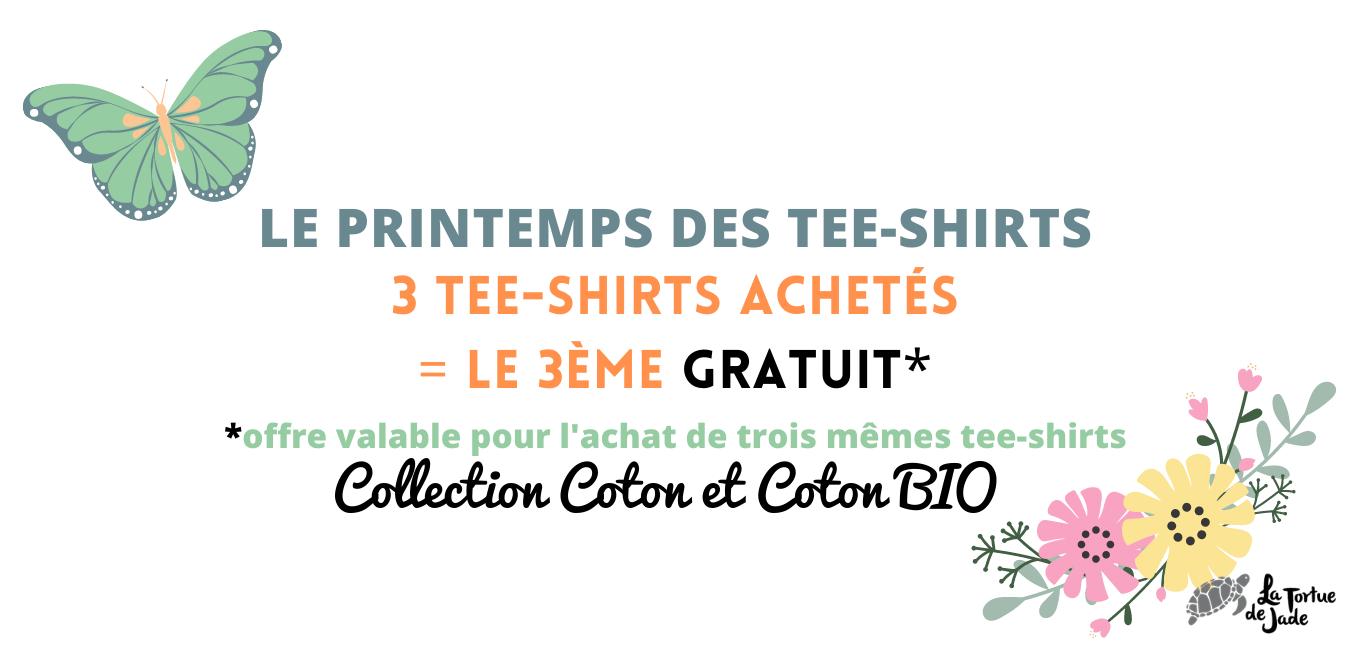 Printemps des tee-shirts