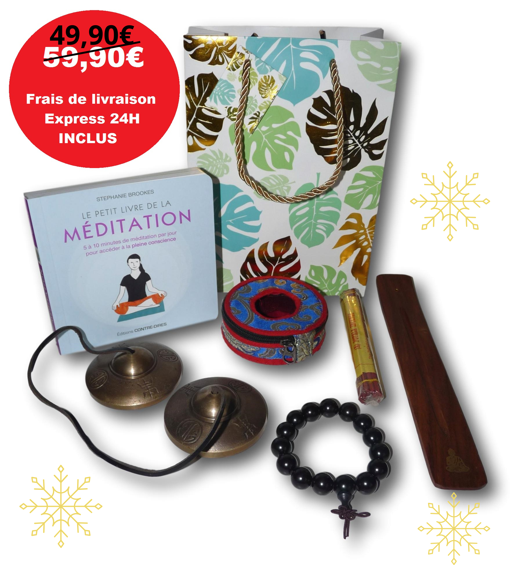 Coffret cadeau méditation