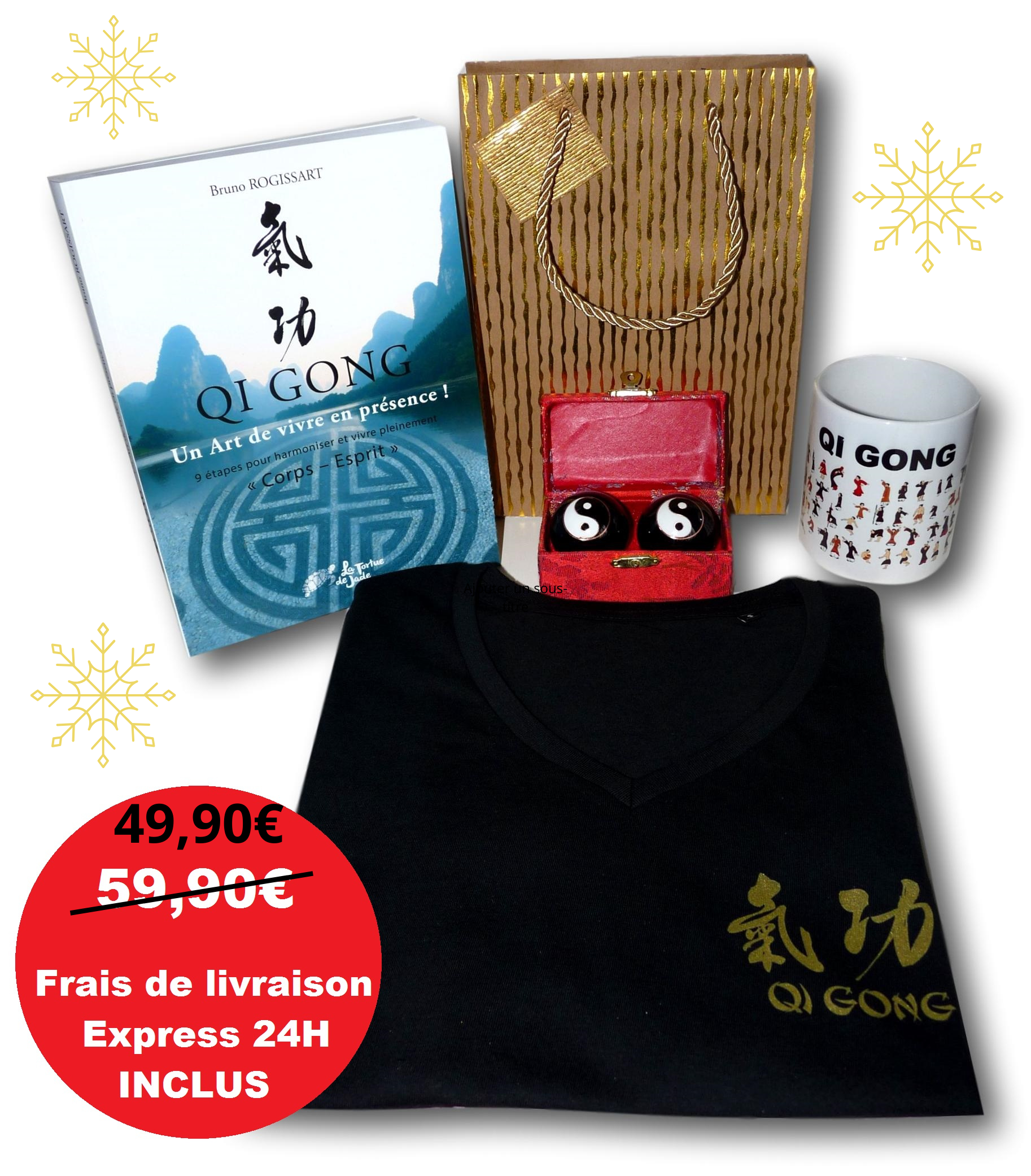 Coffret cadeau Qi gong