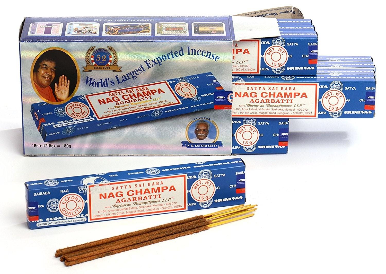 Encens Nag Champa 12 x 15g