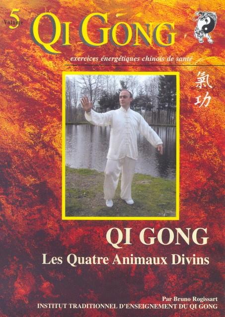 DVD QI GONG LES QUATRE ANIMAUX DIVINS