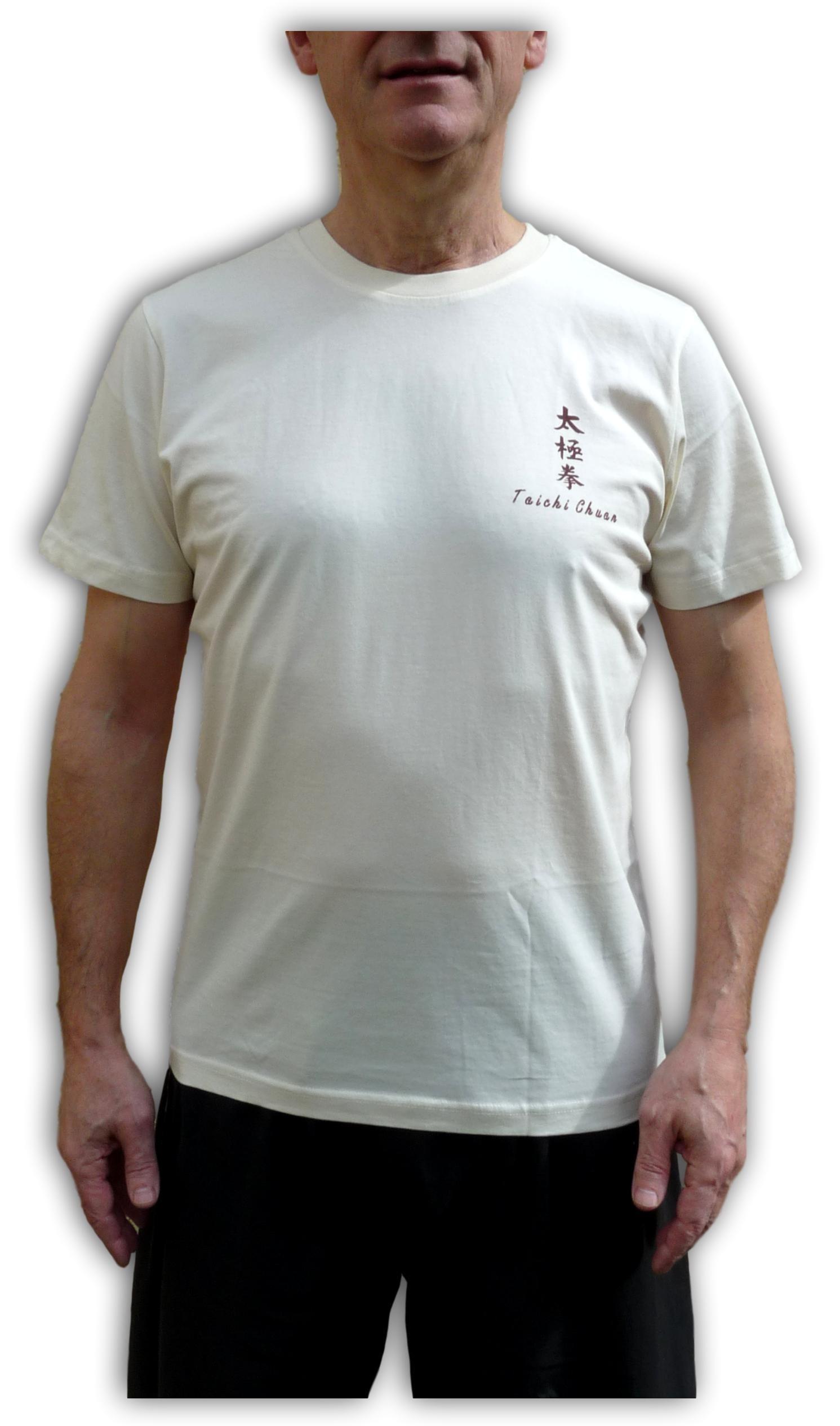 Tee-shirt Taichi chuan 100% coton Bio