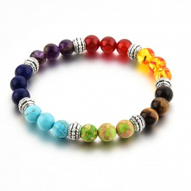 Bracelet en pierres 7 chakras