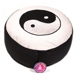 coussin de méditation yin et yang