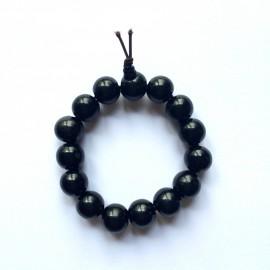 Bracelet mala tibétain - Bois ébène