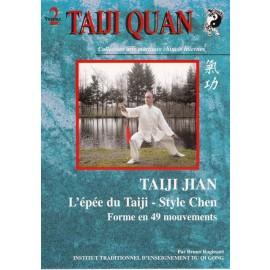 TAIJI JIAN -  épée du style Chen Forme 49
