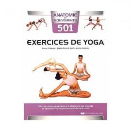 Livre 501 exercice de yoga