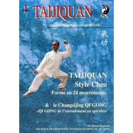 DVD TAIJIQUAN style Chen forme 24.