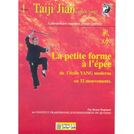 TAIJI JIAN épée du style YANG forme 32