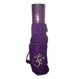 set de yoga violet om