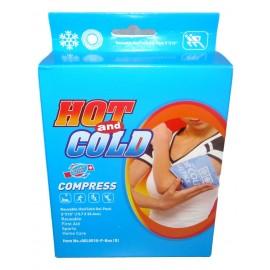 Deluxe réutilisable chaud/froid gel pack réutilisable
