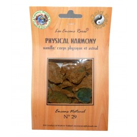 Encens rares - Physical Harmony - Corps Physique et Astral - 25 gr
