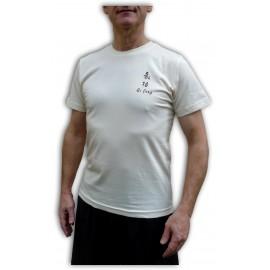 Tee-shirt Qi gong 100% coton Bio