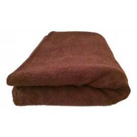 Serviette massage Chocolat gamme spa 90 x 200 cm