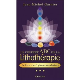 Coffret ABC de la lithothérapie - Livre + 7 pierres chakras