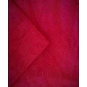 Lot de 3 housses de table en tissu éponge - coloris framboise - Taille S