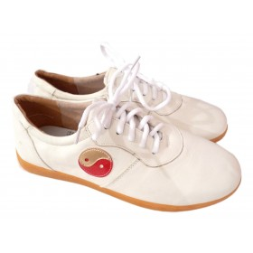 Chaussures YIN YANG blanches