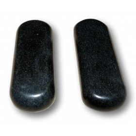 Lot de 2 pierres d'acupression 8 x 3 x 1,5 cm