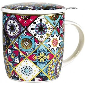 Boîte cadeau infuseur à Thé Mug - Oriental